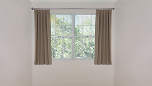 Window Sill Length Drapery Technical
